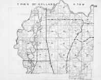 Holland Township - North, Black River, La Crosse County 1954